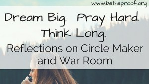 I recently soaked up some recommended reading 'Circle Maker: Praying Circles Around Your Biggest Dreams and Greatest Fears'* by Mark Batterson and watched #1 at the box of office Christian film 'War Room'. Although I have my critiques, these Christian resources reminded me of the principle that it is a spiritual battle we are facing against the enemy. True victory comes when I continually load up with scriptures and confidently give an early surrender to the God to fight the battle by giving up my life to Him. I cannot win on my own. I must continue to fight with intentionality for my prayer life in the Christian walk to be daily, urgent, and bold through taking the cross and taking up the right weapons of truth in Scripture and the willingness to be uncomfortable in surrender.