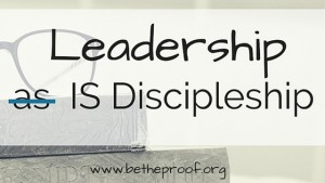 I don't know about you, but when I think about Biblical leadership, three names immediately come to mind: Moses, Jesus, and Paul (in chronological order, not order of importance). What is it about these three that made them such great leaders? Well, people have written entire books about each one of those individuals, so there's a lot to say. But don't worry; I'll limit it to a few key points.