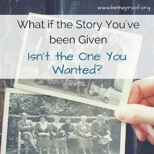 What if the story God is writing through your life isn't the one you would have chosen yourself? Would you still be able to trust God?