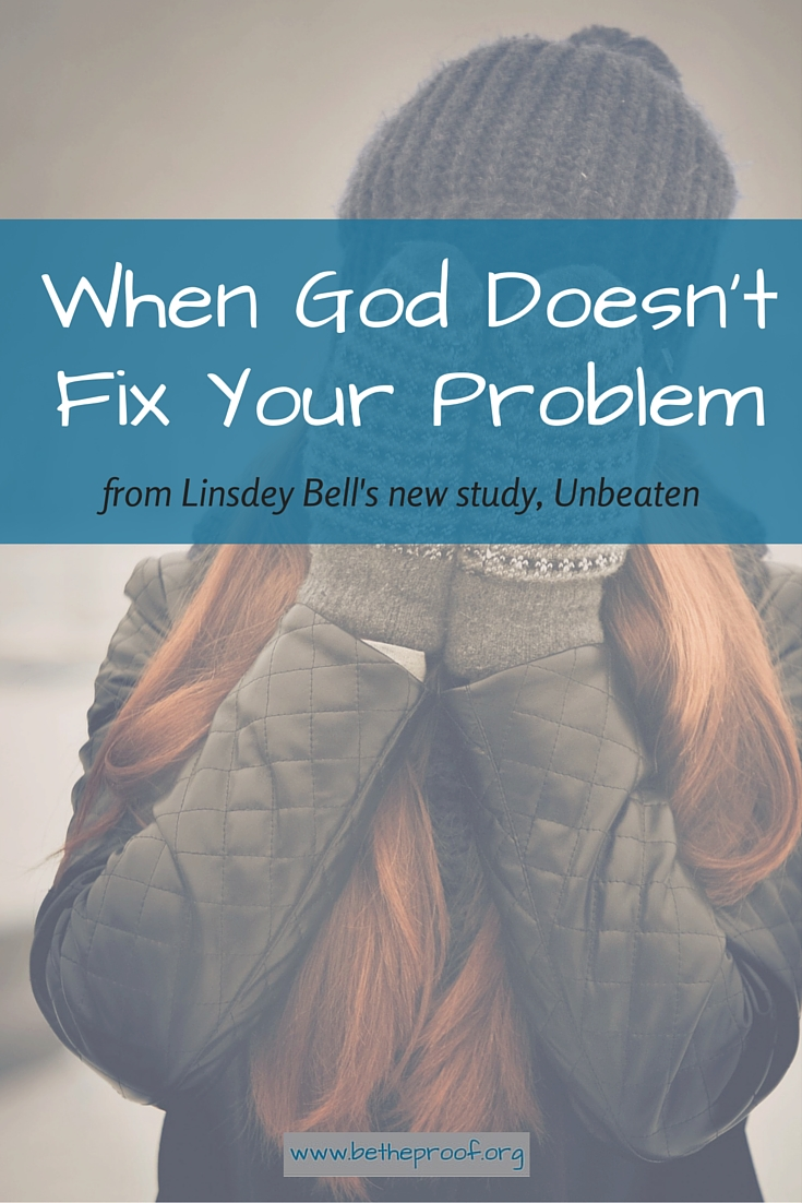 Why does life have to be so hard?  Difficult times often leave Christians searching the Bible for answers to the most difficult questions — Does God hear me when I pray? Why isn't He doing anything? Does He even care?  In Unbeaten, author Lindsey Bell shares the stories of biblical figures who went through tough times. Through this 10-week Bible study and devotional, she reminds readers that while life brings trials, faith brings victory. And when we rely on God for the strength to get us through, we can emerge Unbeaten.