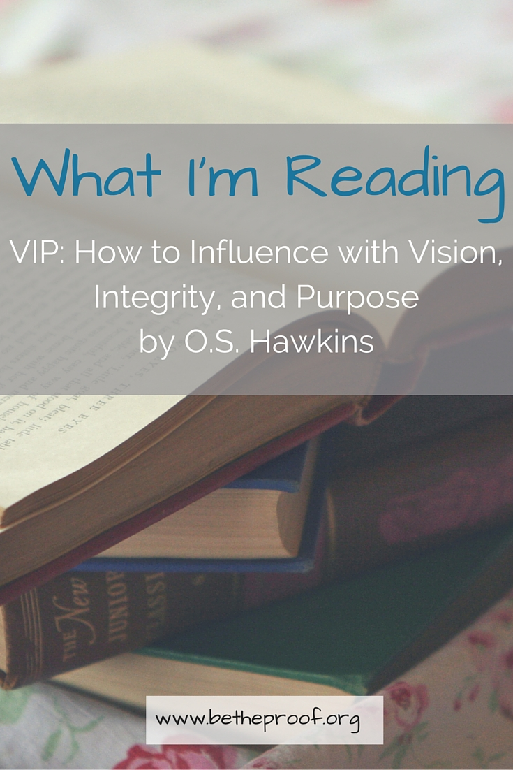 Have you ever stopped to really think about how you are utilizing your influence? Have you ever stopped to think about how you are impacting those around you on a daily basis? Do you often dream of being a VIP?
