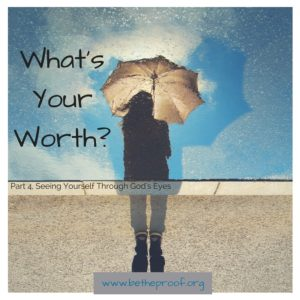 Where do we find our worth? Is it something that changes or do we have an inherent set value? I would argue the second, and I will tell you why momentarily. First, let's explore an area in which we, even as Christians, tend to try to find our worth. For many women I have met, myself included, and an increasing number of men, physical appearance has become something that defines them. I know I do not have to go into detail about how our society has a twisted message in regards to beauty.