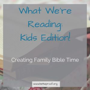 One of the things Eric and I have talked about as we discuss what it looks like for our family to live a legacy lifestyle is being able to incorporate Bible time together as a family. With Sarabeth being 20 months old now, she's able to comprehend a lot more than most kids her age are given credit. We found a time that works best for our family and decided to sit down and read Sarabeth's board book Bible with her. In theory, this was a great idea. But we forgot to take into account our daughter's love for turning the page quickly and not allowing us to tell her the whole story.