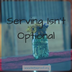 Serving Isn't Optional