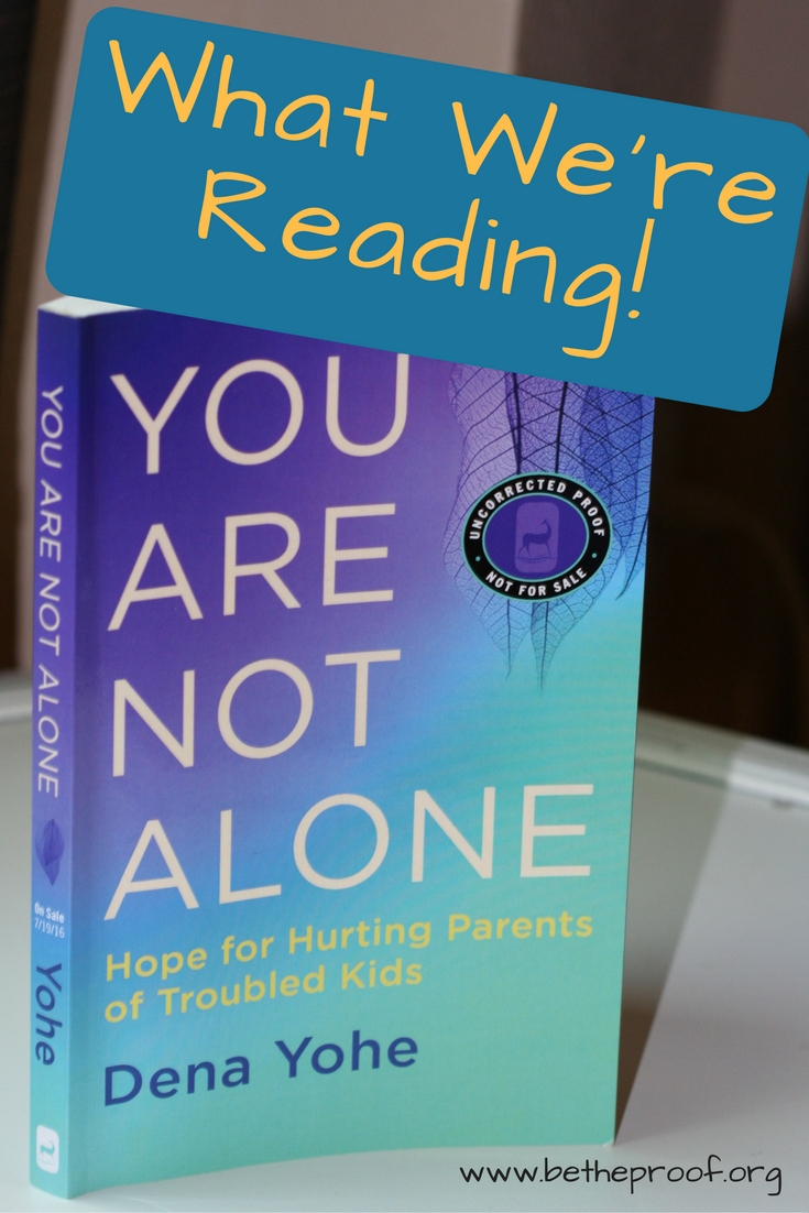 "Have you ever needed a book to cry out ""me too"" when you are struggling and feel alone? I don't think you'll ever hear a louder cry of me too then in this book. Dena Yohe shares her experience of raising a daughter who was given a mental health diagnosis and struggled through life."
