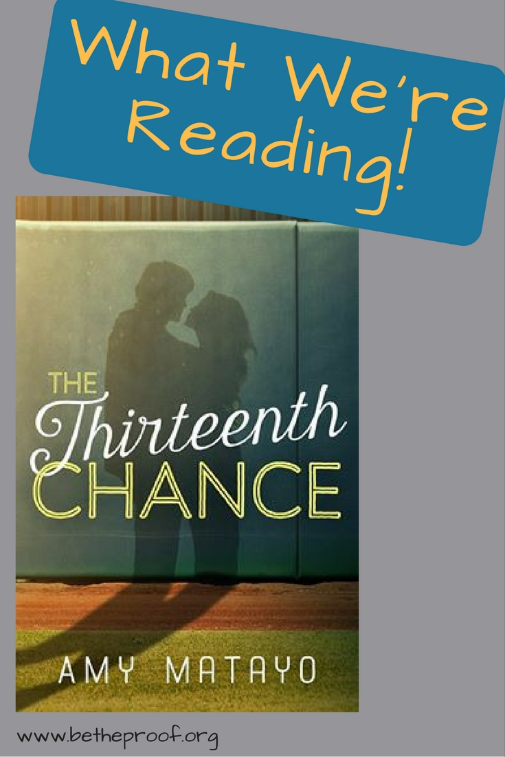 Check out Amy Matayo's newest book, The Thirteenth chance!